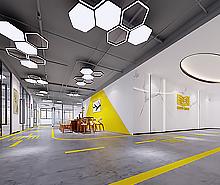 金账本共享办公空间装修设计
